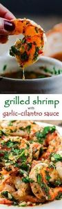 Grilled shrimp with roasted garlic - 290 Grilling Recipes - RecipePin.com