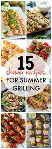 Summer time grilling is always mor - 290 Grilling Recipes - RecipePin.com
