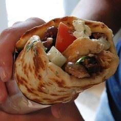 Chicken Gyro. Looks like takeout. - 195 Healthy Chicken Recipes - RecipePin.com