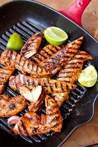 spicy paprika lime chicken recipe - 195 Healthy Chicken Recipes - RecipePin.com