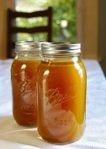 Chicken stock w/ leftover roasted  - 195 Healthy Chicken Recipes - RecipePin.com