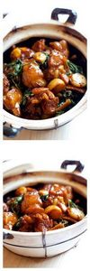 Taiwanese 3-cup chicken made with  - 195 Healthy Chicken Recipes - RecipePin.com