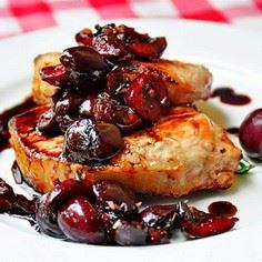 Grilled Pork Loin Chops with Balsa - 195 Healthy Chicken Recipes - RecipePin.com