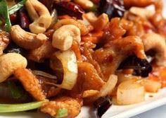 Chicken and Cashew Stir-Fry Salad  - 195 Healthy Chicken Recipes - RecipePin.com