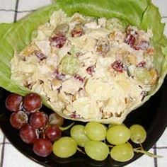 Chicken Pasta Salad with Cashews a - 195 Healthy Chicken Recipes - RecipePin.com