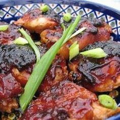 Caramelized Baked Chicken Recipe.  - 195 Healthy Chicken Recipes - RecipePin.com