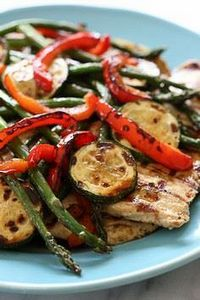 Honey Balsamic Grilled Chicken and - 195 Healthy Chicken Recipes - RecipePin.com