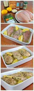 Lemon and Thyme Chicken Breasts |  - 195 Healthy Chicken Recipes - RecipePin.com