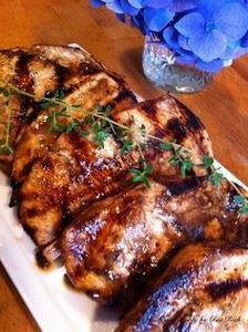 Balsamic Marinated Grilled Chicken - 195 Healthy Chicken Recipes - RecipePin.com