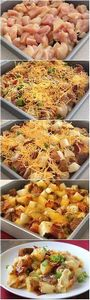 Loaded baked potato and chicken ca - 195 Healthy Chicken Recipes - RecipePin.com