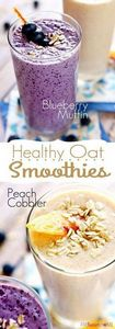 Top 70 Delicious And Super Healthy - 275 Healthy Smoothie Recipes - RecipePin.com