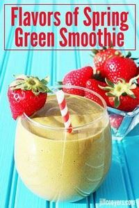 Flavors of Spring Green Smoothie j - 275 Healthy Smoothie Recipes - RecipePin.com