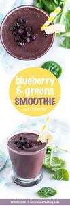 Superfood Smoothie | Blueberry and - 275 Healthy Smoothie Recipes - RecipePin.com