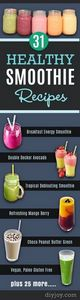 Healthy Smoothie Recipes - Best Sm - 275 Healthy Smoothie Recipes - RecipePin.com