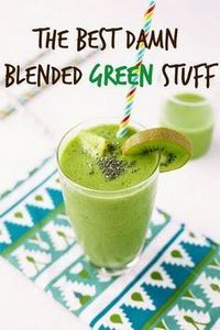 Simple Green Smoothie recipe - Del - 275 Healthy Smoothie Recipes - RecipePin.com