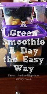 A Green Smoothie A Day the Way. ji - 275 Healthy Smoothie Recipes - RecipePin.com