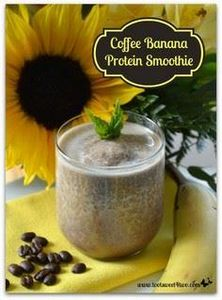 Coffee Banana Protein Smoothie - a - 275 Healthy Smoothie Recipes - RecipePin.com