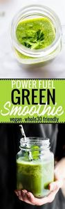 A POWER FUEL Green Smoothie to kic - 275 Healthy Smoothie Recipes - RecipePin.com