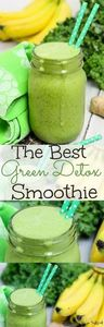 The best green smoothie recipe. Ka - 275 Healthy Smoothie Recipes - RecipePin.com