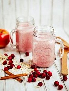 Cranberry Oatmeal Breakfast Smooth - 275 Healthy Smoothie Recipes - RecipePin.com
