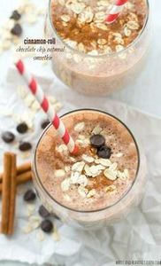 Super-creamy and loaded with a tri - 275 Healthy Smoothie Recipes - RecipePin.com