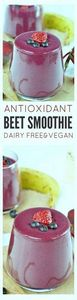 Beet Smoothie - 275 Healthy Smoothie Recipes - RecipePin.com