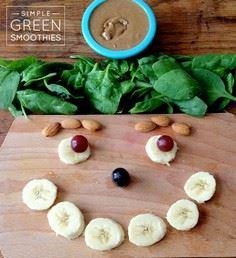 Almond Butter and Jelly Green Smoo - 275 Healthy Smoothie Recipes - RecipePin.com