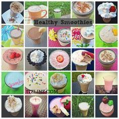 healthy smoothie recipes - 275 Healthy Smoothie Recipes - RecipePin.com