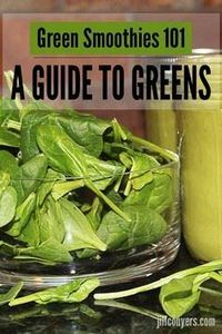 Green Smoothies 101: Guide to Gree - 275 Healthy Smoothie Recipes - RecipePin.com