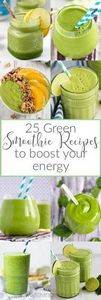 A roundup of 25 healthy and delici - 275 Healthy Smoothie Recipes - RecipePin.com
