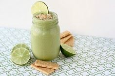 Key Lime Smoothie Recipe #silkalmo - 275 Healthy Smoothie Recipes - RecipePin.com