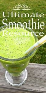 The Ultimate Green Smoothie Resour - 275 Healthy Smoothie Recipes - RecipePin.com