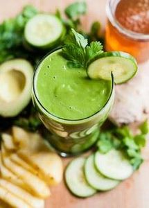 Spring Detox Smoothie Recipe | Hel - 275 Healthy Smoothie Recipes - RecipePin.com