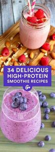 With eight or more grams of protei - 275 Healthy Smoothie Recipes - RecipePin.com