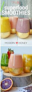 6 Healthy Superfood Smoothies that - 275 Healthy Smoothie Recipes - RecipePin.com