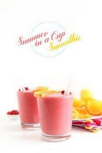Summer Berry Smoothie | Minimalist - 275 Healthy Smoothie Recipes - RecipePin.com
