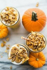Healthy Pumpkin Pie Smoothie (Vega - 275 Healthy Smoothie Recipes - RecipePin.com