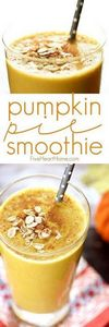 Pumpkin Pie Smoothie ~ a fall twis - 275 Healthy Smoothie Recipes - RecipePin.com