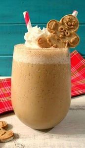 Gingerbread Smoothie - A creamy, s - 275 Healthy Smoothie Recipes - RecipePin.com