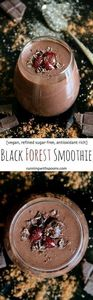 Black Forest Smoothie -- naturally - 275 Healthy Smoothie Recipes - RecipePin.com