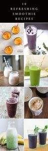 10 Healthy Smoothie Recipes - 275 Healthy Smoothie Recipes - RecipePin.com