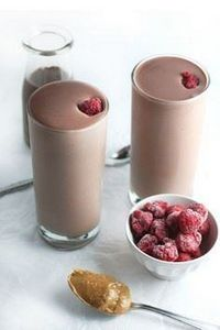 Chocolate Raspberry Almond Butter  - 275 Healthy Smoothie Recipes - RecipePin.com