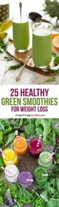 I tried to pick the healthiest, ea - 275 Healthy Smoothie Recipes - RecipePin.com