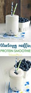 This creamy and filling Blueberry  - 275 Healthy Smoothie Recipes - RecipePin.com