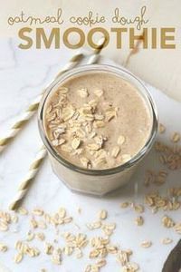 Healthy Cookie Dough Smoothie - 275 Healthy Smoothie Recipes - RecipePin.com