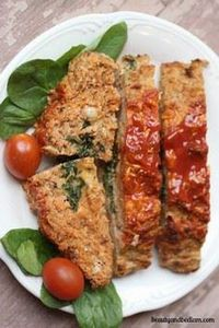 Ground Turkey Meat Loaf Recipe, He - 75 Healthy Turkey Recipes - RecipePin.com