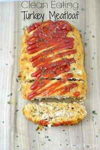 This turkey meatloaf recipe is inc - 75 Healthy Turkey Recipes - RecipePin.com