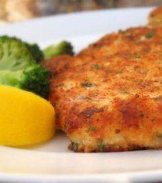 Parmesan Crusted Chicken - 240 High Protein Recipes - RecipePin.com