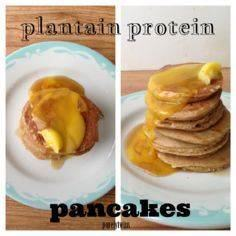 Plantain Protein Pancakes: 2 eggs  - 240 High Protein Recipes - RecipePin.com