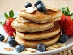 7 Healthy Pancake Recipes That Wil - 240 High Protein Recipes - RecipePin.com